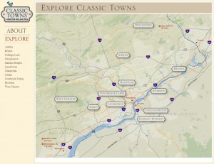 Classic Towns - Map