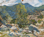 by Walter Elmer Schofield Courtesy of Woodmere Art Museum