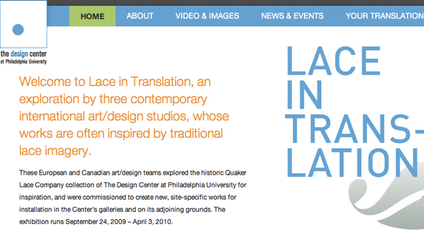 Lace in Translation