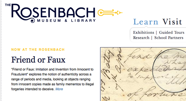The Rosenbach Museum and Library